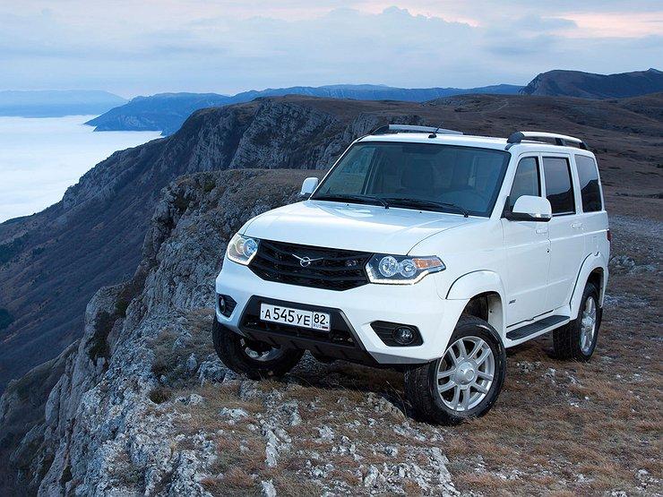 УАЗ «Патриот» получит дизельный двигатель, чтобы покорять зарубежье