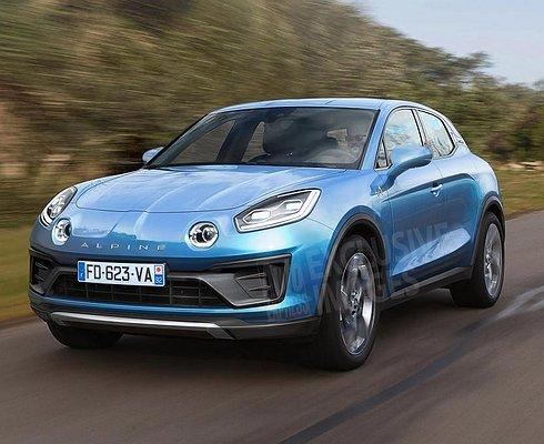 Alpine выпустит конкурента Porsche Macan