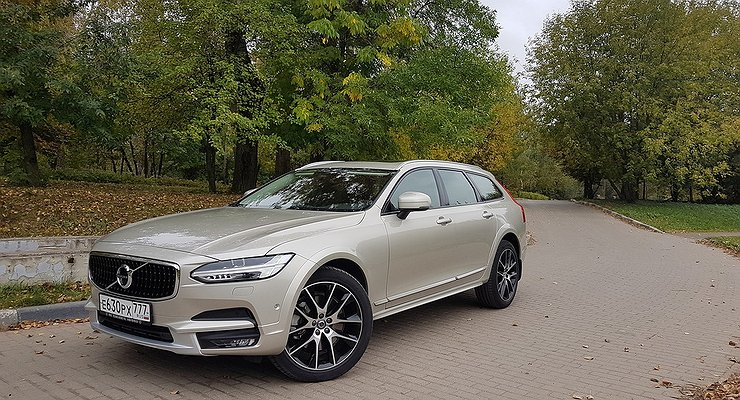 Тест-драйв Volvo V90 Cross Country: вагон повышенного комфорта