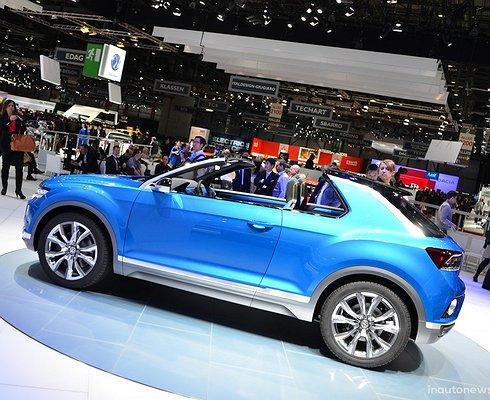 Чем серийная версия кроссовера Volkswagen T-ROC отличается отконцепт-кара