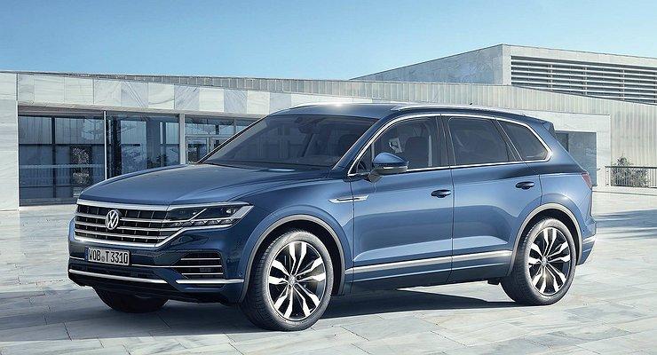 Кроссовер Volkswagen Touareg нового поколения представлен официально