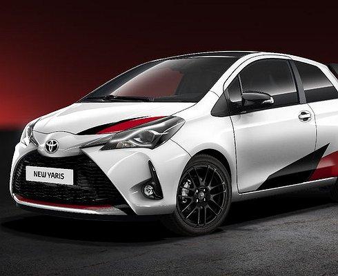 Toyota показала, как будет выглядеть «спортивный» Yaris