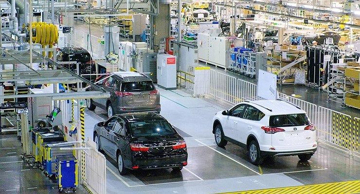 Завод Toyota вСанкт-Петербурге удвоил производство засчет кроссовера RAV4