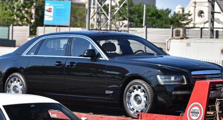 ВРоссии полекалам Rolls-Royce построили новый лимузин ЗИЛ