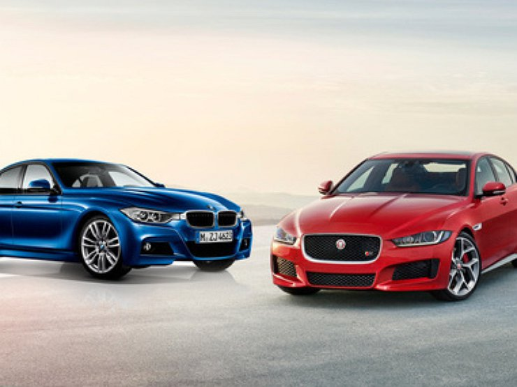 jaguar xe vs bmw 3 series. Black Bedroom Furniture Sets. Home Design Ideas