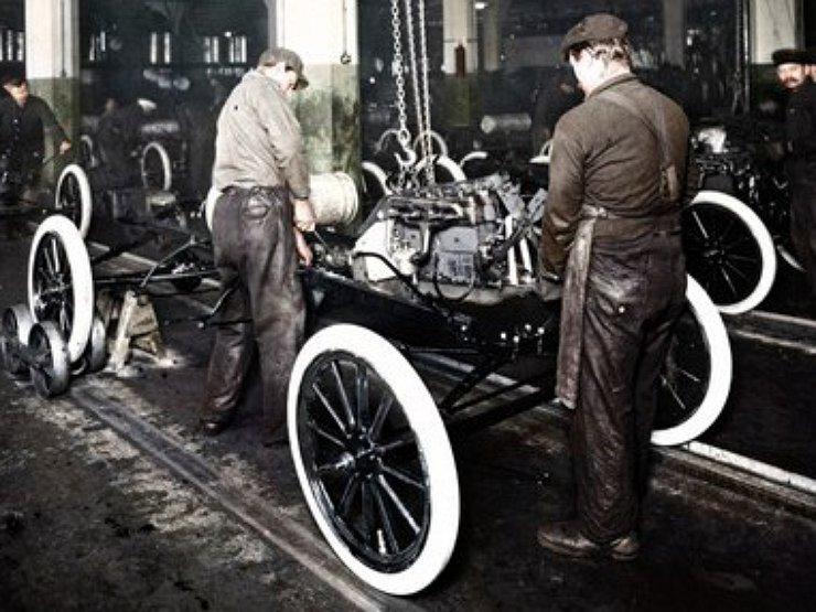 Принцип конвейера форда разница между фольксваген каравелла и транспортер