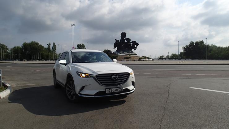 Тест-драйв Mazda CX-9: из жизни отдыхающих - Автомобили