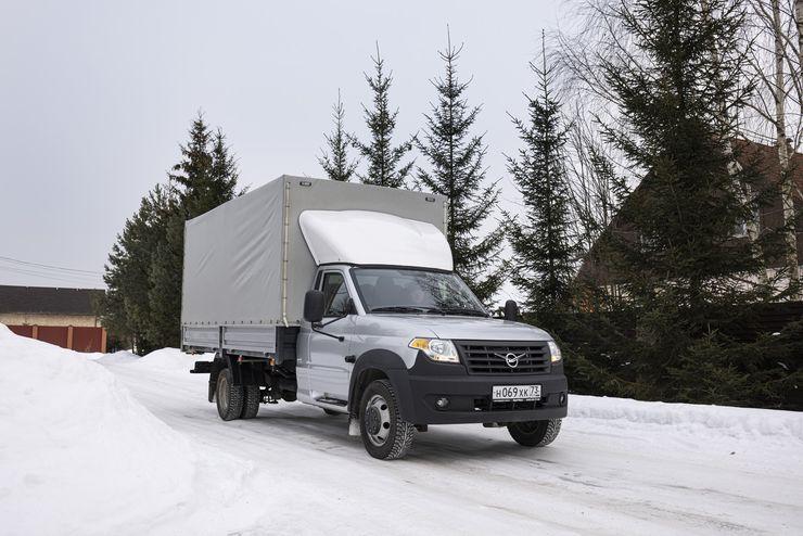 Длина имеет значение: первый тест-драйв новейшего УАЗ «Полуторка»