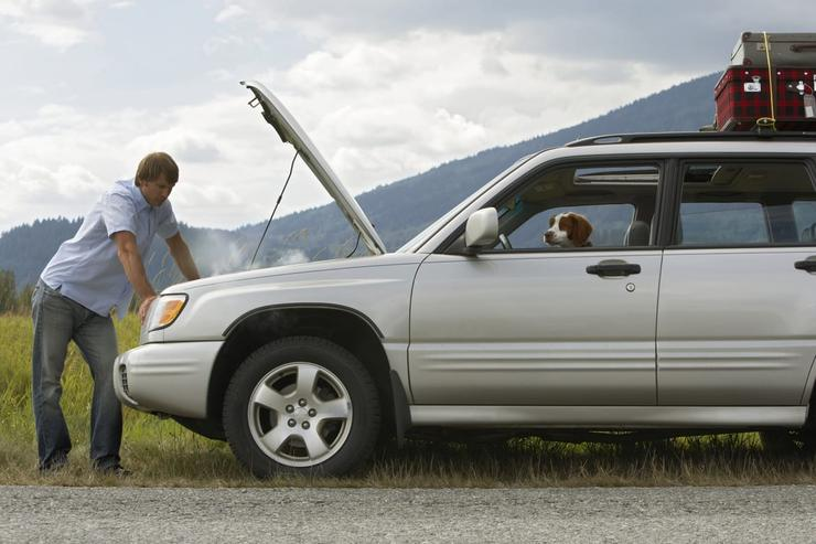 5 причин, почему автомобиль может «закипеть» в пробке