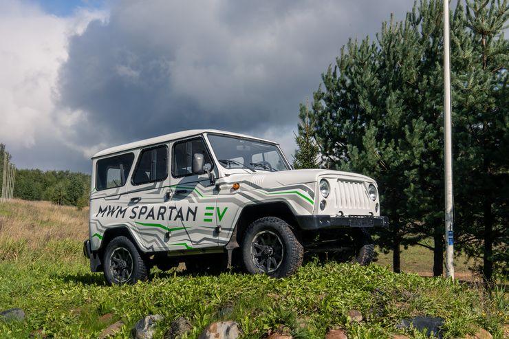 Прекрасное далеко: первый тест-драйв УАЗ «Хантер» на электротяге