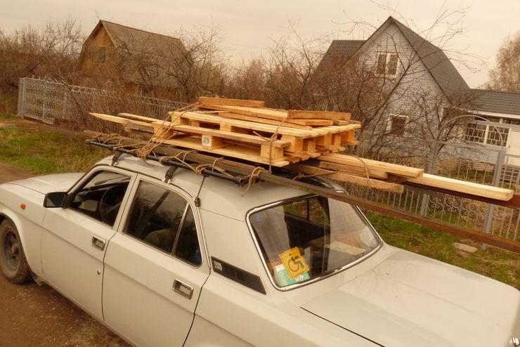Как правильно возить в машине рассаду и другой дачный скарб