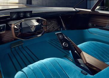 Peugeot представил электромобиль в стиле ретро - Автомобили