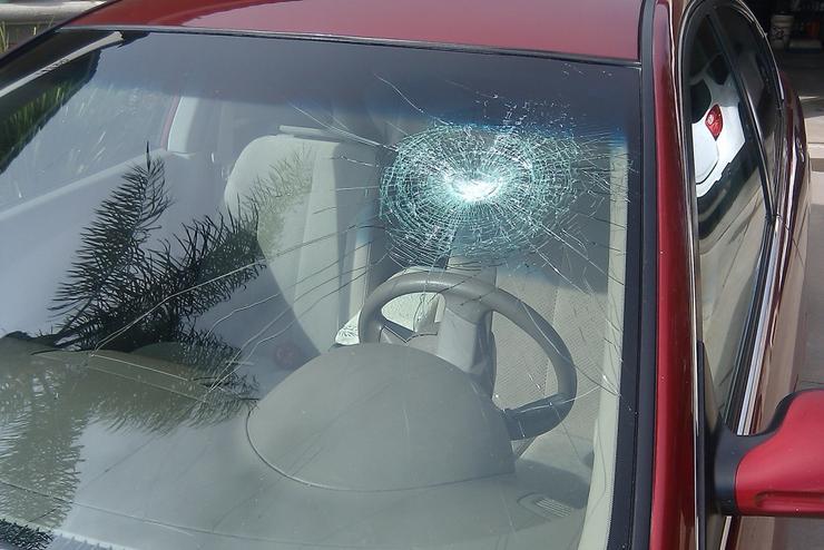 Разбито лобовое стекло страховой случай