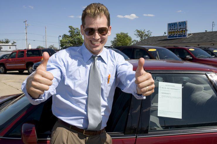 Том клеверли покупает машину