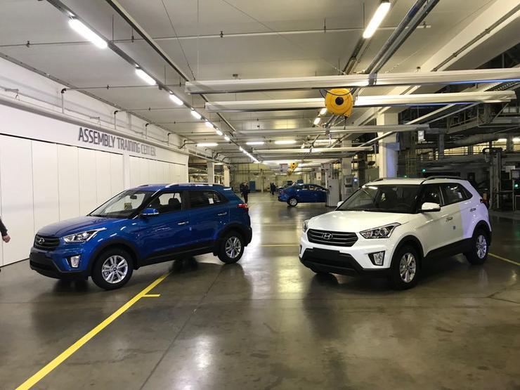 Завод Хёндай в северной столице выпустил 1,5-миллионный автомобиль