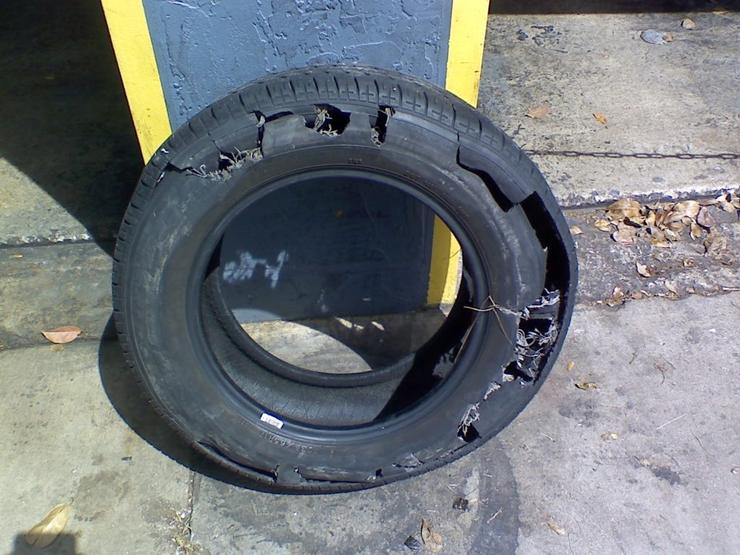 Что будет, если перекачать колесо машины